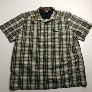 The North Face Button Up Shirt Short Sleeve